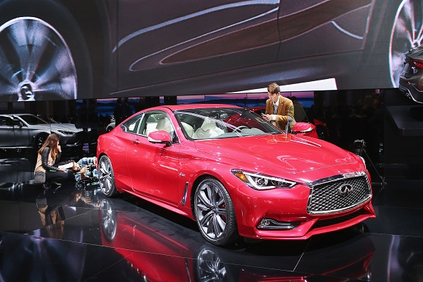 2017 Infiniti Q60 Coupe Unveiled At Detroit Auto Show Release Date