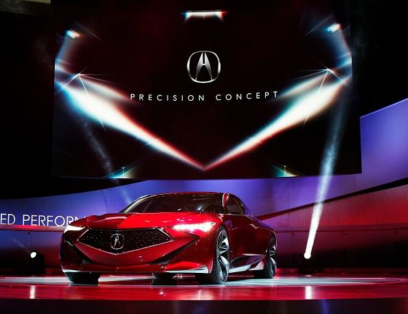 acura u0026 39 s new precision concept unveiled at naias 2016   u0026 39 precision crafted performance u0026 39  the new