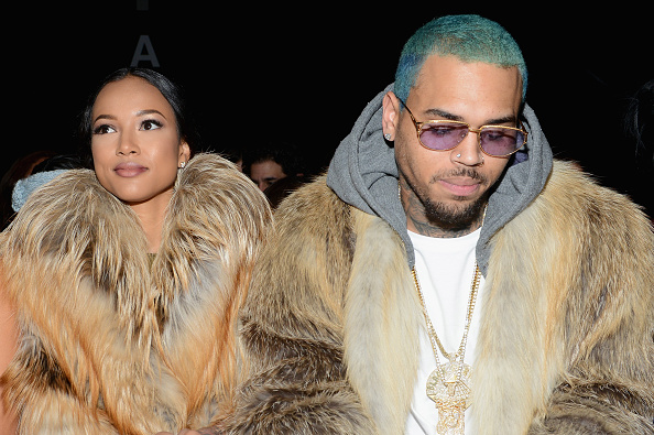 Who is chris brown dating with now