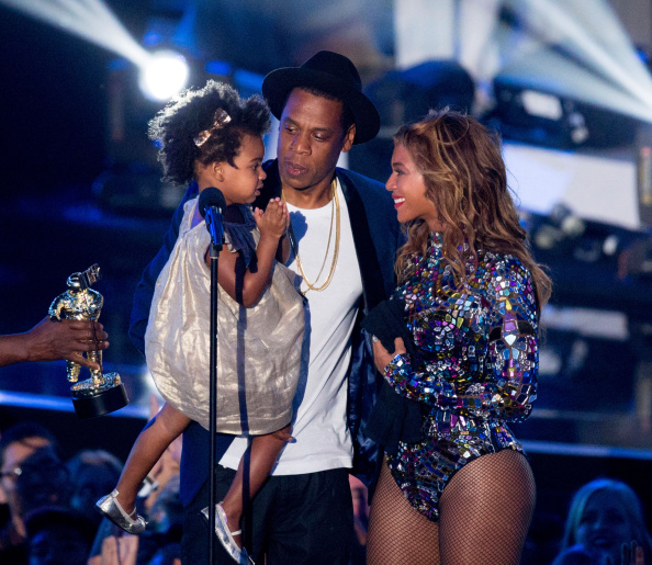 Beyonce and Jay-Z take twins home