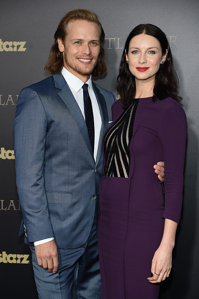 Caitriona Balfe is engaged
