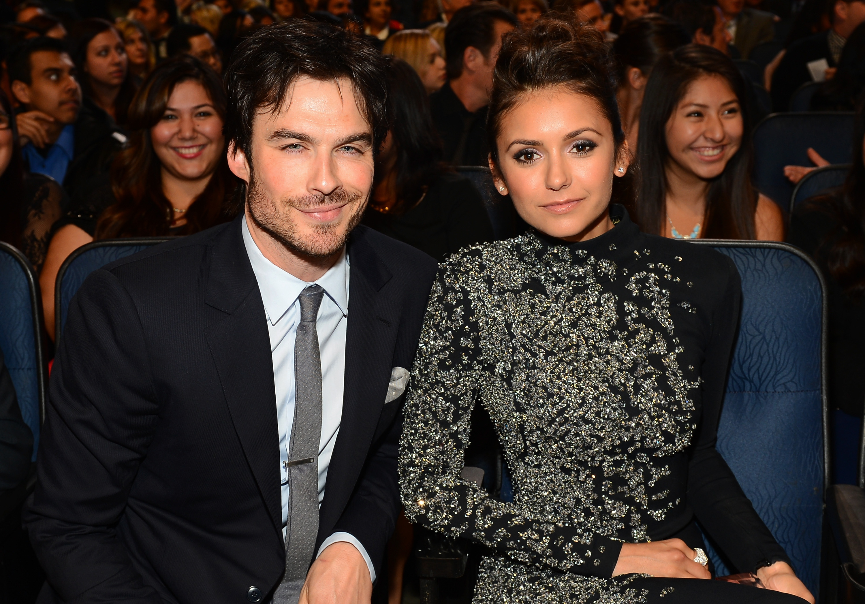 Is ian somerhalder still dating nina dobrev 2018