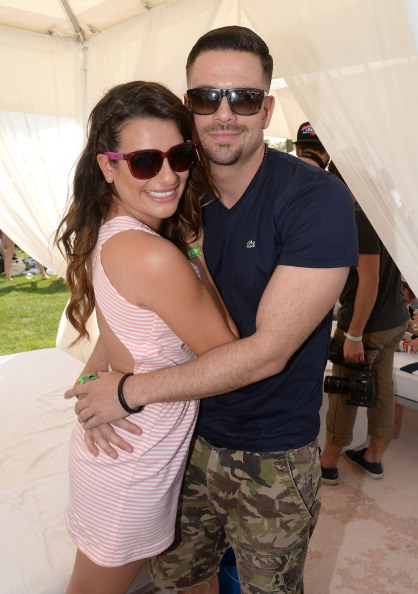 Who is lea michele hookup in real life