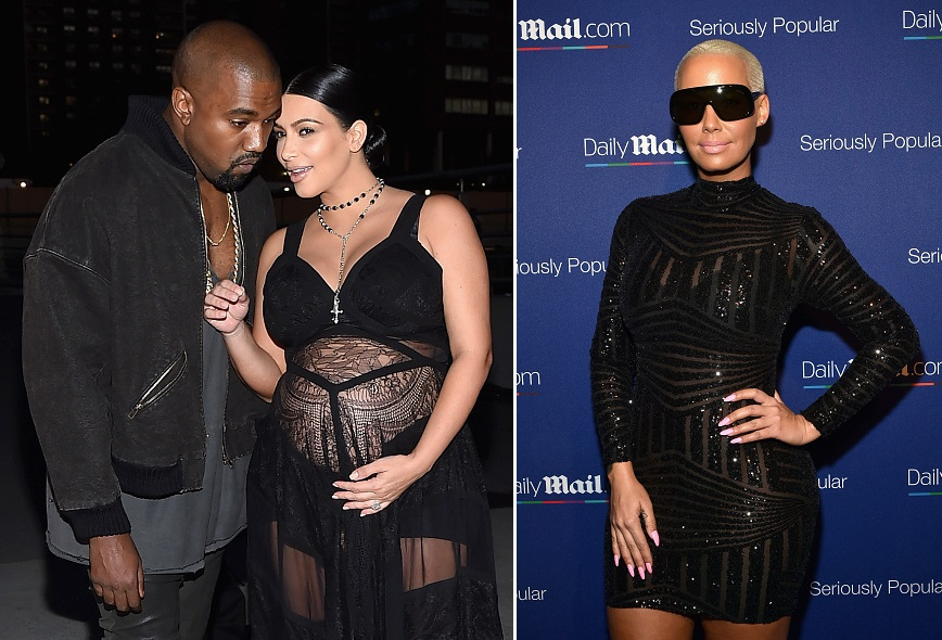kim kardashians instagram pic with amber rose