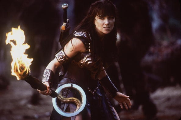 Xena Warrior Princess Reboot Set Original Actress Lucy Lawless