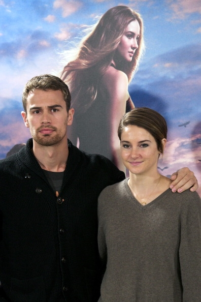 Woodley shailene james theo together and Insurgent's Theo