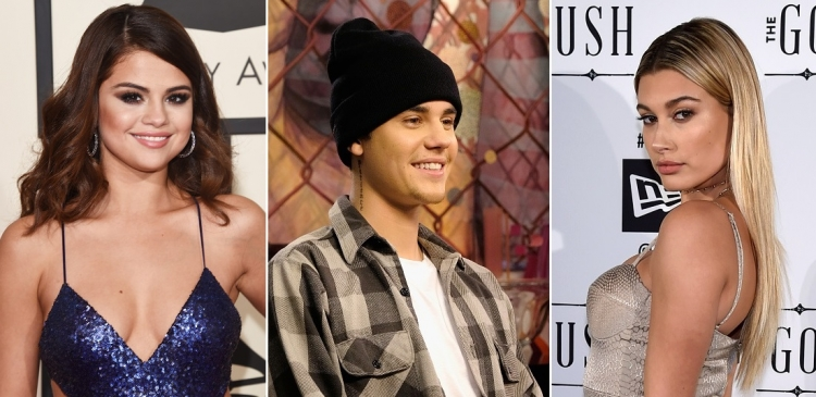 Image result for selena gomez justin and hailey