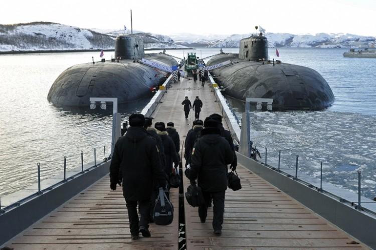 Russian Nuclear Submarines Graveyard - 0425