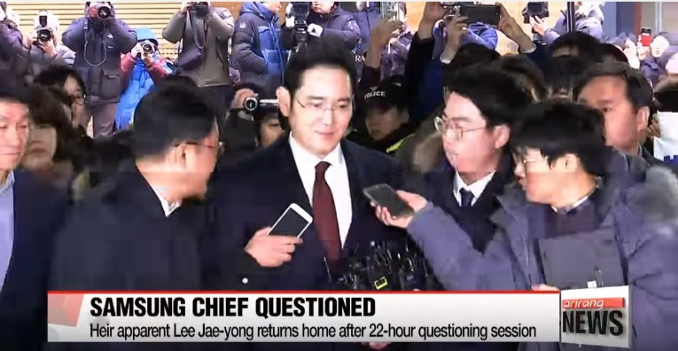 South Korean prosecutors consider request again to detain Samsung heir