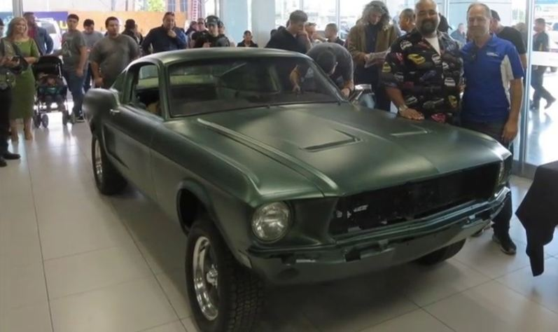 Long lost Mustang from 'Bullitt' reportedly found in Mexico