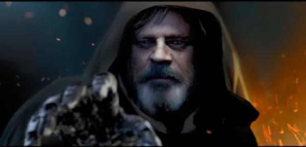 Star Wars Episode 8 The Last Jedi Teaser Trailer Shown At Disney S Event Luke Skywalker S First Words Revealed Us Koreaportal