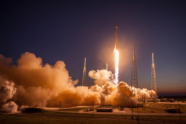 Watch Elon Musk's SpaceX launch a bus-size satellite