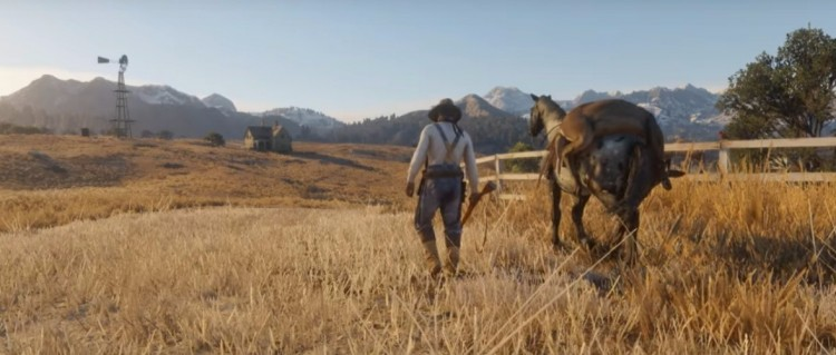 Red Dead Redemption 2' Trailer & Release Date: PS4 Owners
