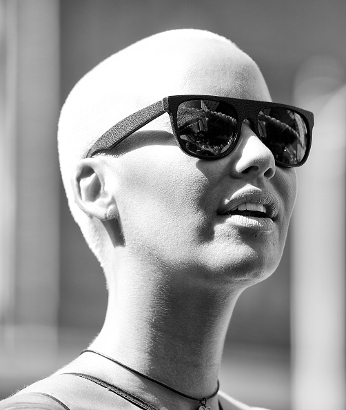 Culture: Amber Rose Poses For GQ, Then Slams The Magazine