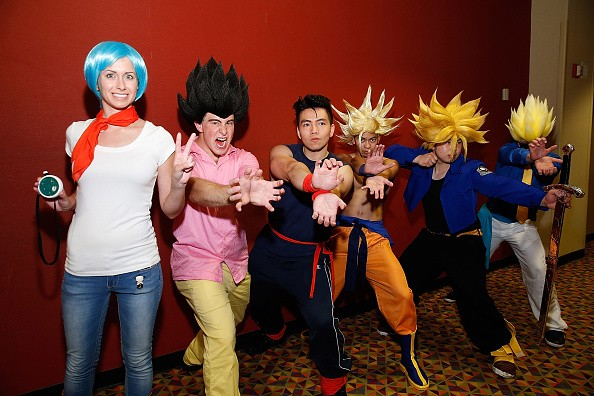 People Cosplaying Dragon Ball Characters Is A Funimation Venture