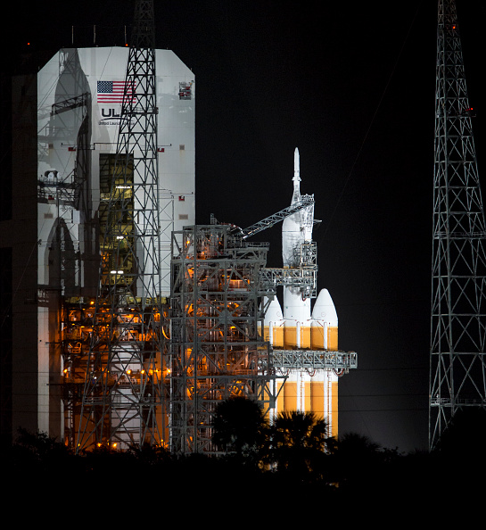 NASA's Orion Spacecraft before launch