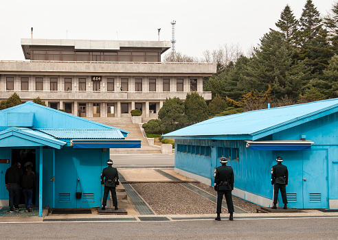 South Korea has fired into North Korea