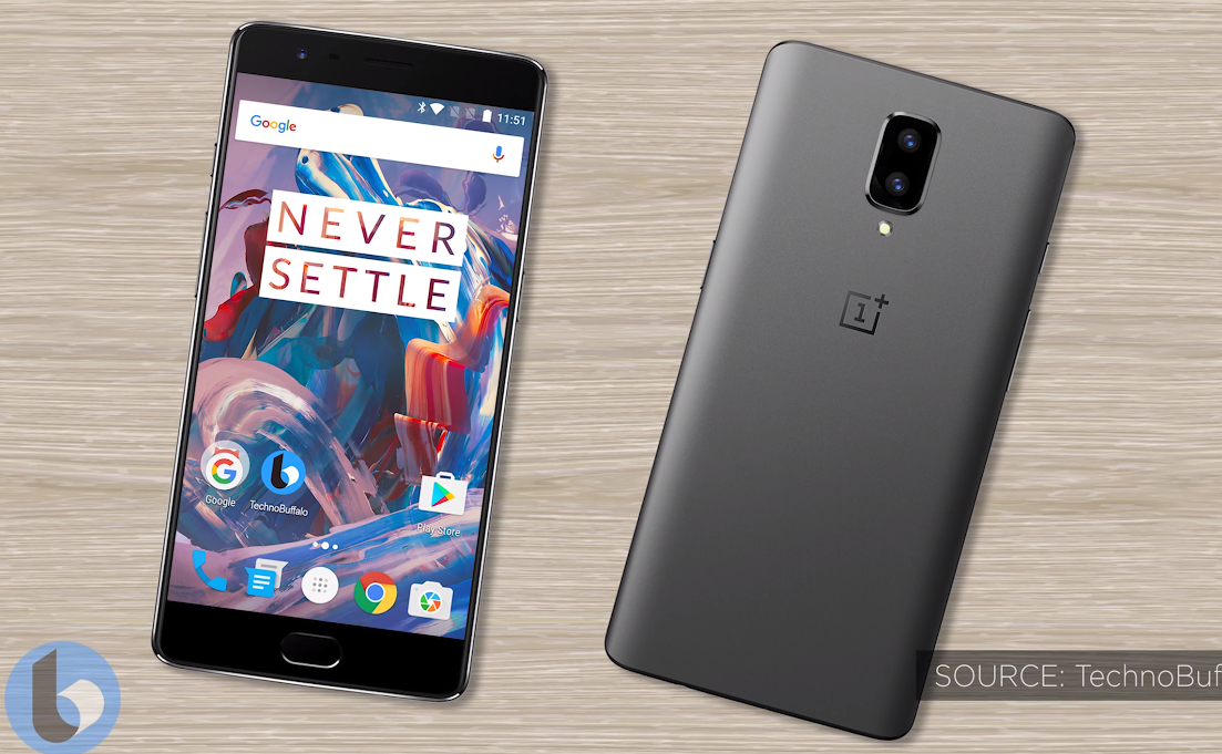 This is the OnePlus 5 and its packaging