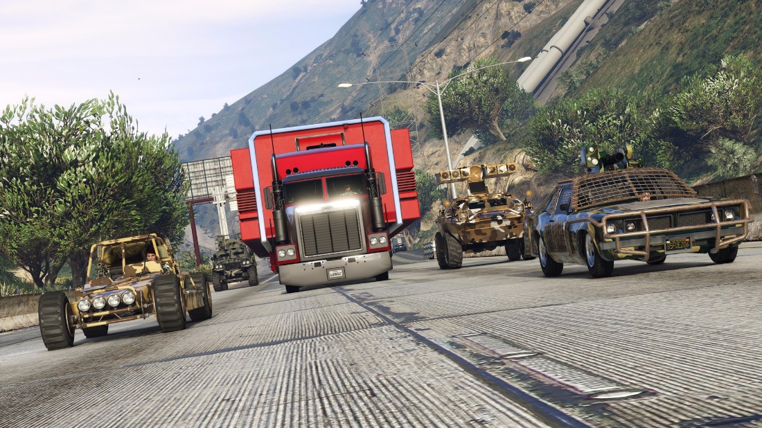GTA Online Gets Base Building and New Attack Vehicles with Gunrunning Update