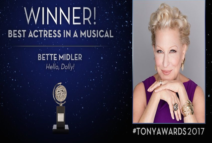 Tony Award Winner Tells Young People to Be Themselves