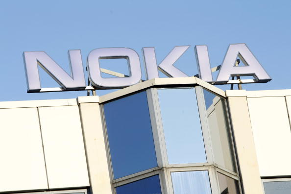 Human Chain Against Nokia Factory Closing