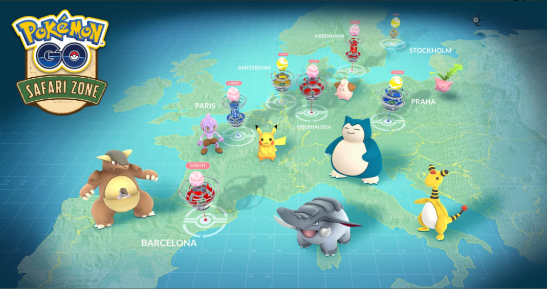 Pokemon GO real-life events around the world get detailed