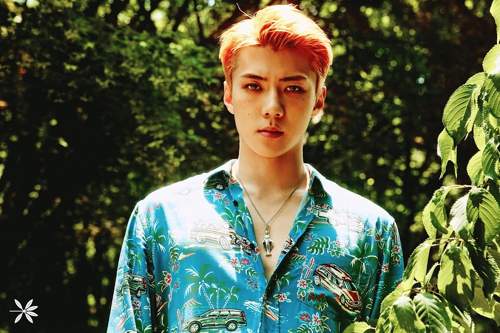EXO Reveals Sehun In Tattoos For U0026 39 The War U0026 39 Teasers
