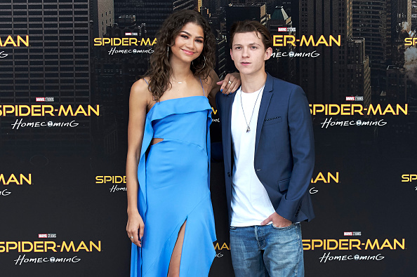 Spider-Man Stars Tom Holland & Zendaya Are Apparently Dating!