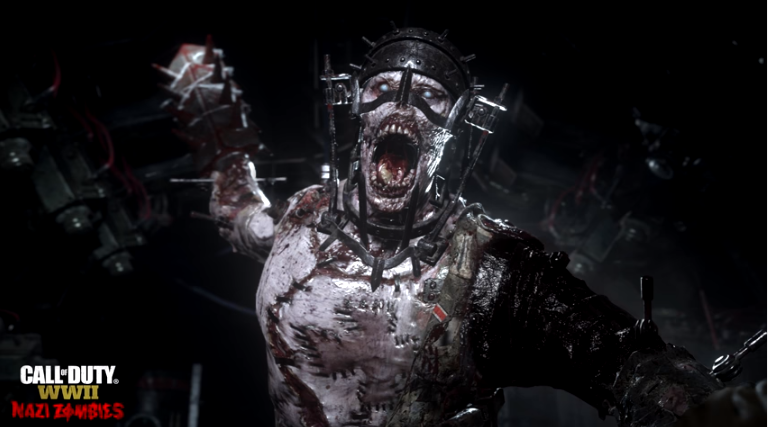 Call of Duty: WW2's Nazi Zombies mode gets a bloody, terrifying trailer