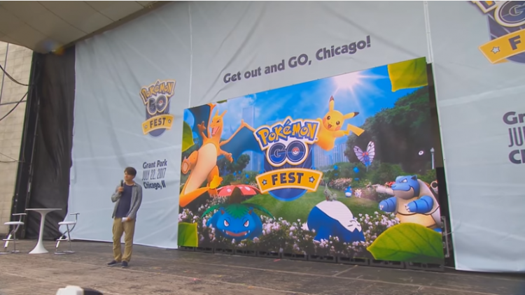Pokemon GO' News, Updates: Photo Of The Chicago Event's Game