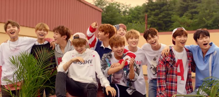 monster rookie group wanna one continues to break records k wave