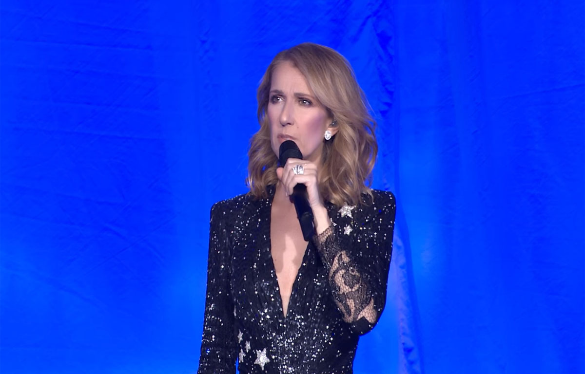 Celine Dion Breaks Into Tears While Performing At Vegas Concert
