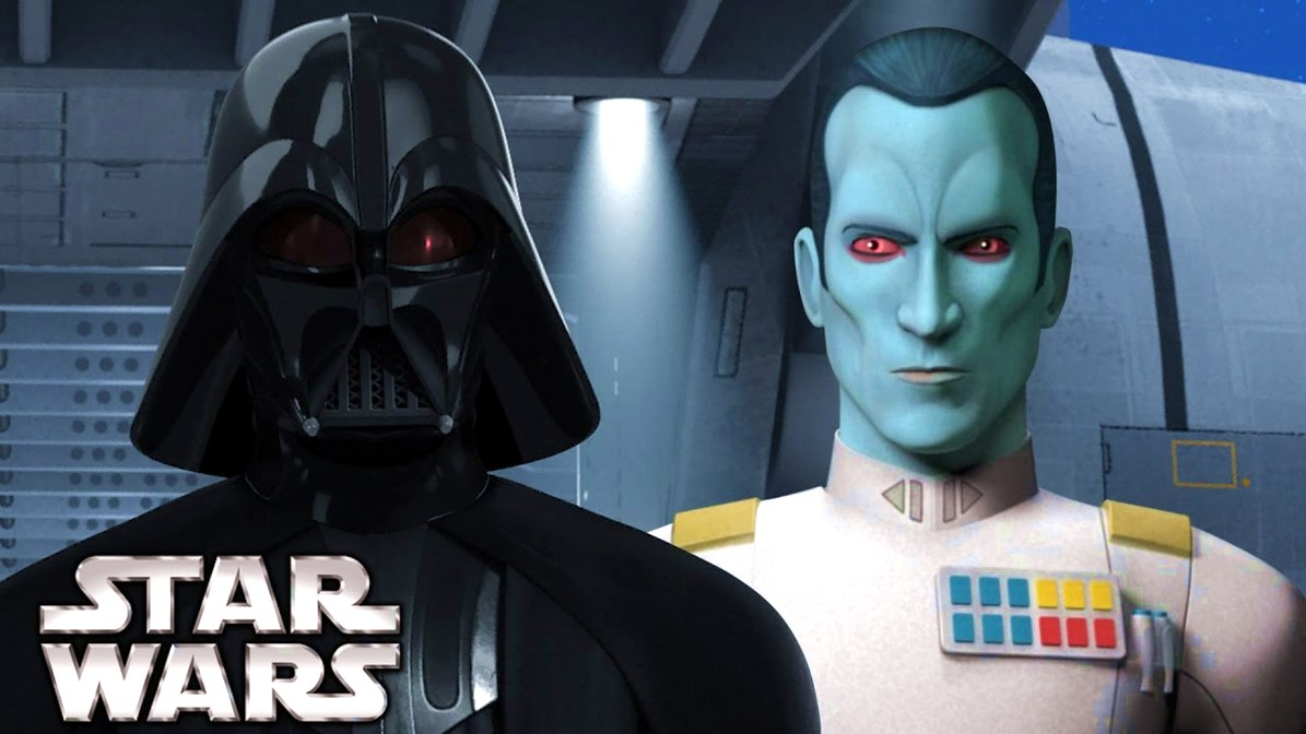 Thrawn and Darth Vader Unite in New Star Wars Novel