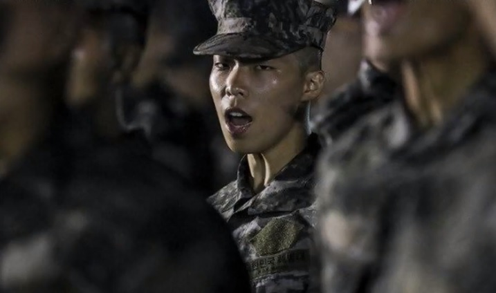 Akdong Musician's Lee Chan Hyuk Looks Different in New Marine Corps Video