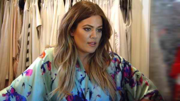 Khloé Kardashian, pregnant, confirms, in an original way her first pregnancy