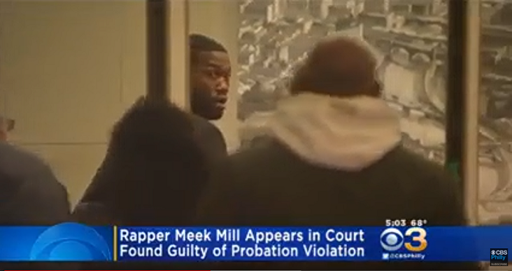 Rapper Meek Mill Sentenced to Prison for Violating Probations