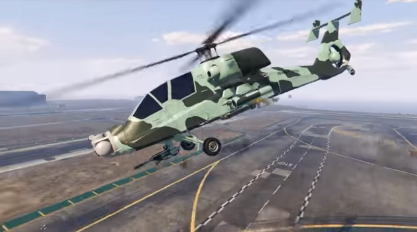 Hunter helicopter gta v online release date
