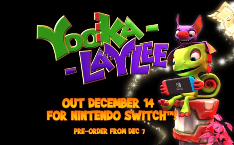 Yooka-Laylee Finally Has a Release Date on Switch
