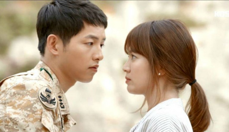 Most Fans Are Not Aware That Song Joong Ki And Hye Kyo Used To Share The Same Passion Photo By Descendants Of Sun YouTube Screenshot
