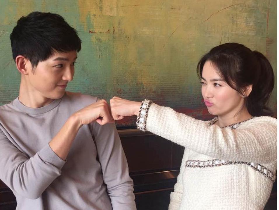 The End of PyeongChang 2018, Song Joong Ki and Song Hye ...