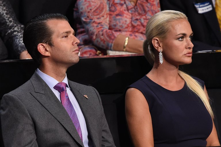 Donald Trump Jr.'s wife Vanessa files for divorce