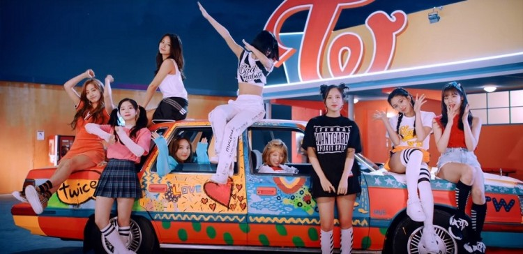 twice teases new japanese single wake me up with chic mv k wave
