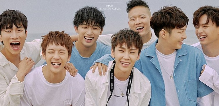 Btob Comeback 2018 K Pop Group Offers Only One For Me As Comeback