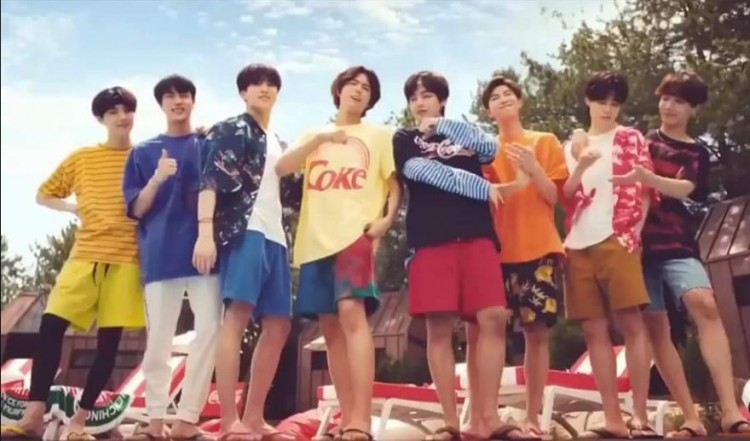 BTS x Park Bo Gum: Coca-Cola Unveils New Ad : K-PEOPLE