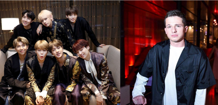 Bts And Charlie Puth To Showcase A Special Collaboration Exclusively At  Mbc Plus X Genie Music Awards Photo By Bts Facebook And Charlie Puth Facebook
