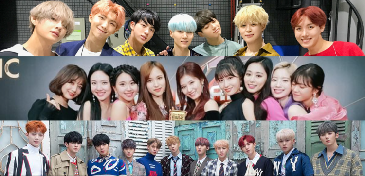 Korea's Naver Drops Top 10 K-Pop Group Searches Of 2018